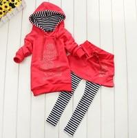 New boy /girl leisure wear suit Pure cotton long sleeve leisure wear suit Household tigger,4set /lot
