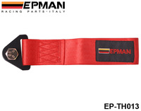 EPMAN - Universal Towing Ropes tow strap (default color is red) orange,blue,green,red,black,brown,gray EP-TH013