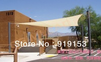 5.5*5.5M Square shade sail HDPE & net blocks up to 90-percent of sunrays