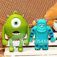 Free shipping Wholesale full capacity 2GB 4GB 8GB 16GB 32GB cartoon 2.0 Memory Stick USB Fl0ash Drive, E1007