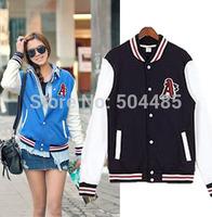 [C-87] 2013 Fashion Korean ladies ' new 2012 autumn tides leisure baseball jacket coat  Free Shopping