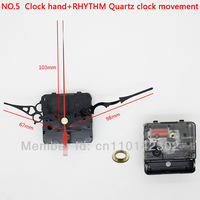 Silent Movement Plastic Rhythm Movement With Clock Hand Clock Accessory Quartz Clock Movement