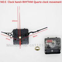 Silent Movement Plastic Rhythm Movement With Clock Hand Clock Accessory Quartz Clock Movement