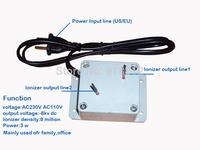 air purifier ionizer negative ions generator AC230V AC110V anion generator ionizer density 8 million,free shipping wholesale