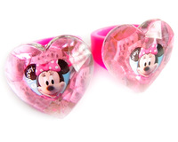 Cute Children accessories kids jewelry Heart Style Pink Minnie Mouse ring for baby girl RI01