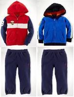 New, retails ,Free Shipping, baby clothes set,  long sleeve coat+pants,   Kids Autumn clothes set, Kids sports suit,1set/lot