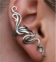 Min order $10(mix order) Free shipping,C015 ,New punk style twining branch earring clip ear cuff,jewelry wholesale
