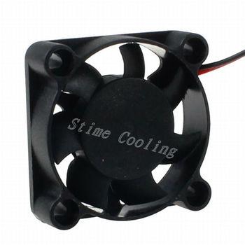 10pcs LYF 2pin 40*40*10mm 40mm 4010 DC 12V Hotsell Mini Cooling Radiator Motor Fan