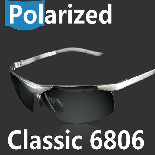 Aluminum magnesium alloy polarized sunglasses driver mirror sunglasses male fishing mirror(China (Mainland))