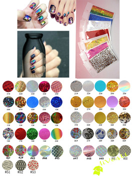 2013 Hot Selling Transfer Foil for Nail Art, Symphony Transfer Foil Nail Sticker with  Individual Packing,45 Designs
