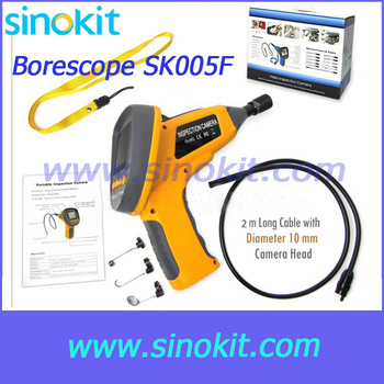 "2.4"" Video Inspection Waterproof Camera Endoscope Snake Borescope 360 Rotation - SK005F"