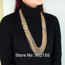 cheap long pendant necklace