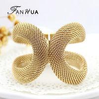 Pulseira Masculina Elegant Gold Color Alloy Wide Cuff Men Bracelets Bangles New 2014 Designer Bijoux For Women