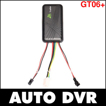 GT06+ Mini GSM Quad-Band 850/900/1800/1900MHz GPRS GPS Tracker With Microphone For Vehicle Motor Free Shipping