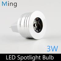 MR11 3W LED spotlight DC 12V  AC 12V 35mm diameter mini led bulb lamp for home lighting  free shipping 10pcs/lot
