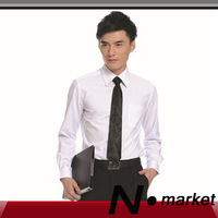 2013 New arrival CVC fabric dress shirts for men free shipping