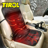 T18755a 12V 35W/45W Universal Heated Cushion / Winter Car Seat Hot Cover Black Free Shipping