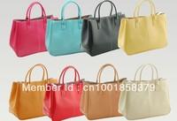 HOT!!!2014 New arrival lady handbag, elegant fashion lades handbag pu leather popular women bags women handbag free shipping