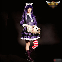 LOL Champions Annie Cosplay Costumes Fancy Lolita Dress Cos boots clothes