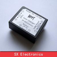 Mini 12V/10A Real MPPT Solar charge controller Improve current 30% Auto 12V/3.7V battery