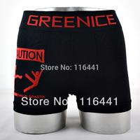 very interesting men's underwear Greenice brand high quality fashion boxer shorts men