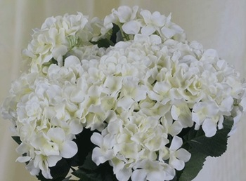 Economic!Free Shipping(24pcs/Lot)Good Quality!Silk Artificial Hydrangea flower HEAD,Head Diameter about 15cm,6C can Mix Per Lot