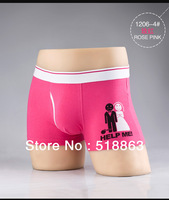 2013 New Arrival High Quality Men's Underwear Boxers 100%Cotton  Free Shipping