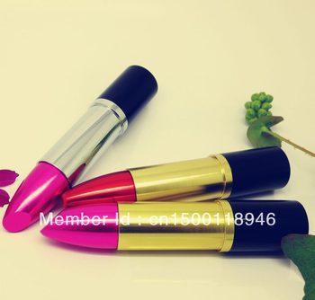 8GB 16GB 32GB 64GB Pen drive Lipstick USB Flash Pen Drive AQ2032 memory stick free shipping