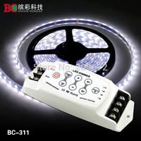 Single Color LED Dimmer 8A*3CH LED dimmer DC5V-DC24V LED PWM single color dimmer