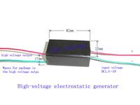 High voltage igniter electrostatic generator inverter for high voltage 100kv