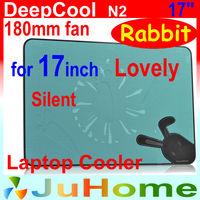 180mm fan for 17inch, Ultra-large fan, Special offer laptop cooler laptop cooling laptop radiator Ultra-thin, DeepCool N2