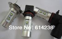 2pcs/lot super brightness H7 60W High Power led light Cree Chip LED Fog lights LED Car lights