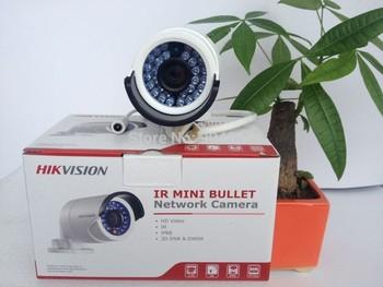 English version DS-2CD2032-I ,Hikvision camera,3MP Mini Bullet Camera,Network IP camera w/IR and IP66,HD IP Camera,CCTV Camera