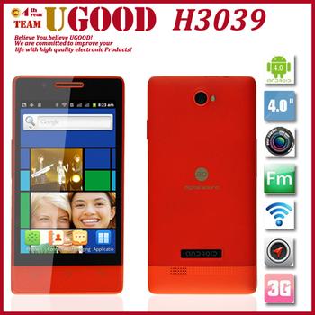 Grátis frete venda quente H3039 1.0 GHz Android 2.3 do Smartphone barato X8 telefone barato 4.0 polegada tela SC 6820 Dual Camera