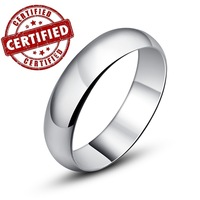 "(1 pieces /women) 100% Genuine Sterling silver 925 ,18k gold plated, promise female ring , ""Simple Love"""