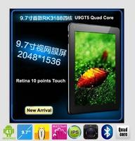 "Cube U9GT5 Quad Core Tablet PC 9.7"" Retina 2048x1536 Capacitive Screen Rockchip RK3188 Android4.1 DDR3 2GB"