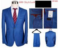 Hot Sale  Men's Suit  Slim Fit Men's Business Suit ,Casual suit,Set S-4XL(Jacket+Pants )