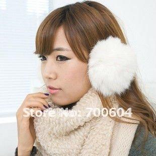 2014 NEW Fashion folding furry Baby Kids Girl Boy Ear warm Muffs warm autumn winter fox fur girls earmuffs Multicolor wholesale