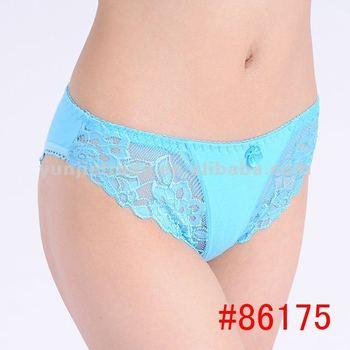 Promotion  women sexy underwear lady panties pretty bikini underwear lingerie pants intiamtewear cottonunderpants 86175YMN brand