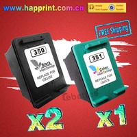 CB335E CB337E Ink Inkjet Printer Cartridge for hp 350 351 Deskjet D4260 C4280 D4360 C4380 C5280 J5700 J5780 J5785 J6480.(2BK+1C)
