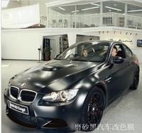 Air Channel 1.27*0.5M Matte Material Car Wrapping Foil,Black Matte Car Wrap Film
