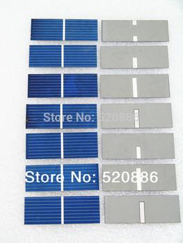Hot* DIY 14w solar panel, 100 pcs 17.6% efficiency 52x19mm solar cell, poly crystalline solar panel DIY Kit value pack