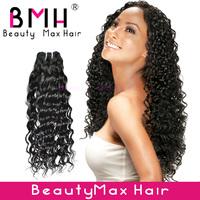 3pcs/lot 100% virgin Peruvian hair weft deep wave remy hair extension FEDEX free shipping 12-26'''' natural  color grade AAAAA