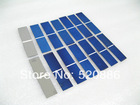 40pcs poly solar cells 78x19mm, solar cell B grade 0.25w/pc, cell solar, high quality and free shipping*#(China (Mainland))