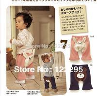 Chun qiu dong baby rabbit / Winnie the shape PP pants ass pants baby trousers wholesale fleece