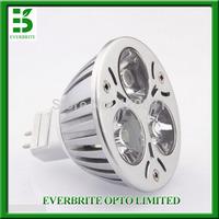 Free shipping,10pcs/lot 3W led MR16 spotlight, Replace 25W halogen lamp GU5.3 DC12V Led Light Lamp Led Spotlight bulb cold white