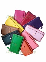 HOT sale high quality PU leather women wallets and purses(CWX03)