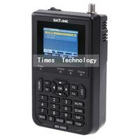 "1pcs original Satlink WS6906 WS 69063.5"" DVB-S FTA digital satellite meter satellite finder , free shipping"