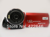 Free Shipping 16.1 MP digital  video camera FUll HD 1080 3.0'' Touch TFT screen+12X Optical Zoom digital camcorder