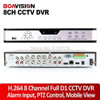 8CH Full D1 960H DVR 8 Channel HDMI H.264 Network DVR Phone Viewing VGA USB Video Camera CCTV DVR